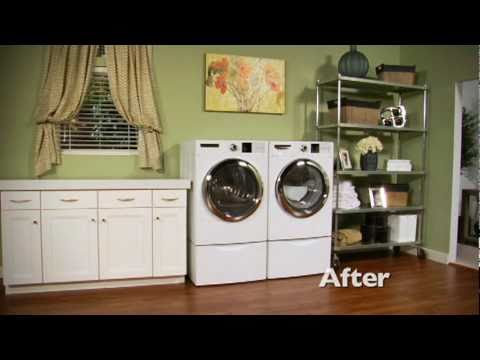 The Laundry Room - Armstrong Exquisite Vinyl Plank Flooring