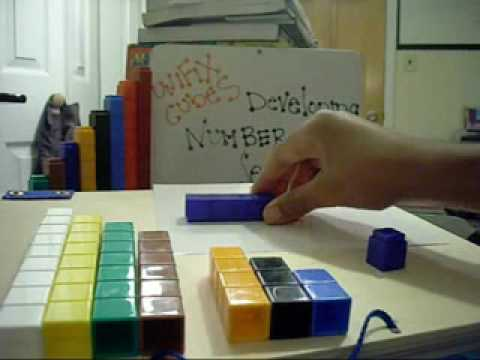 Unifix Cubes Lesson 2 Diff. Ways to Make a Number