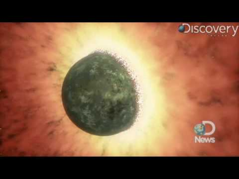 Telescope Finds Proof of Cosmic Smash-Up