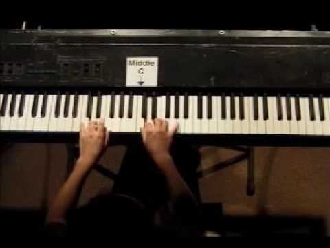 Piano Lesson - Hanon Finger Exercise #4