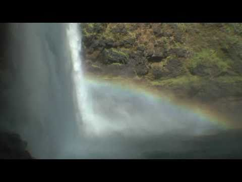 Wailua Falls, Kauai -  Fantasy Island Water Fall  in  1080p