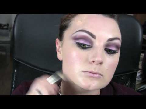 PINK & PURPLE ARABIC MAKE-UP TUTORIAL