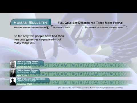 Science Bulletins: Full Gene Set Decoded for Three More People