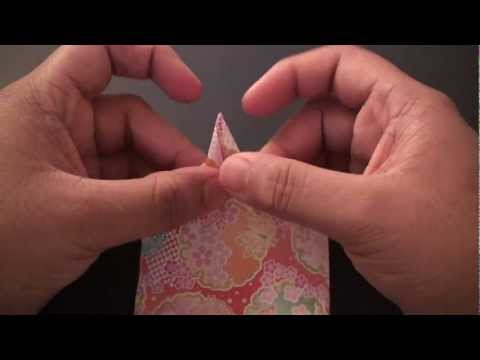 Origami Daily - 209: Bookmark Star With a Message - TCGames [HD]
