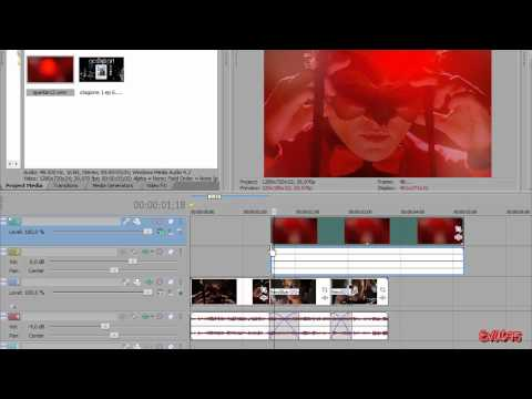 Sony Vegas Tutorial II Effect #61 (Transition+Sparkle)