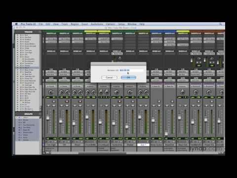 Pro Tools: How to work with sends | lynda.com tutorial