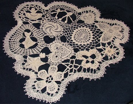 The Inspiration for the Freeform Doily - Hurricane Ike