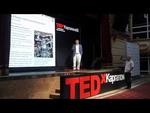 Russia: the tradition of living via innovations:  Georgiy Belozerov at TEDxKapranovaSt