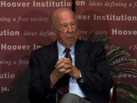 Shultz, Perry, and Drell discuss nuclear deterrence