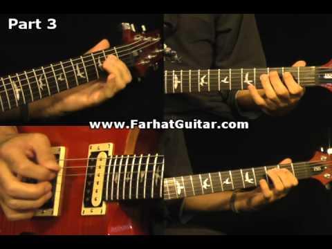 Roadhouse Blues - The Doors Guitar Cover Part 3 www.FarhatGuitar.com