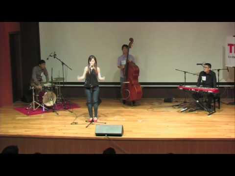 TEDxNUS - Yi Zhe and Meryl Joan Lee - Off The Cuff - Jazz Band