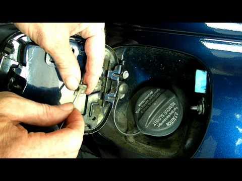 Saturn Fuel Door Repair