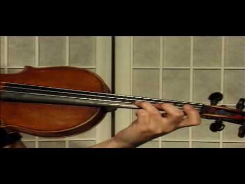 "Violin Lesson - Song Demonstration - ""Winter"""