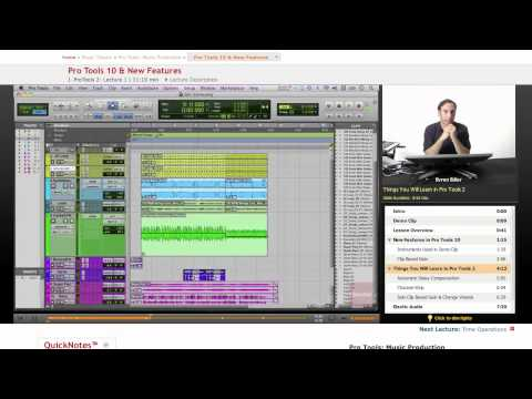 Pro Tools: New Features of Pro Tools 10