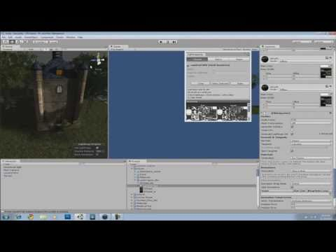 Unity 3D Tutorials - The Beast Lightmapping Feature