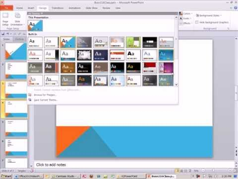Office 2010 Class #17: How To PowerPoint Tricks