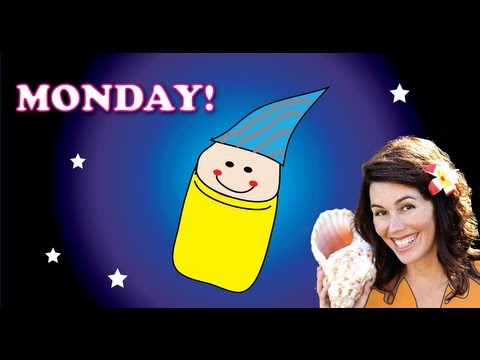 Teach kids the days of the week! Monday - by DidiPop Kids Music