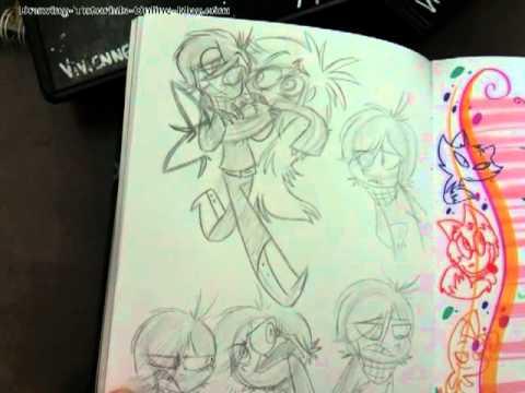 Vivienne's Sketchbook Part II