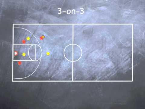 P.E. Games - 3-on-3 Basketball