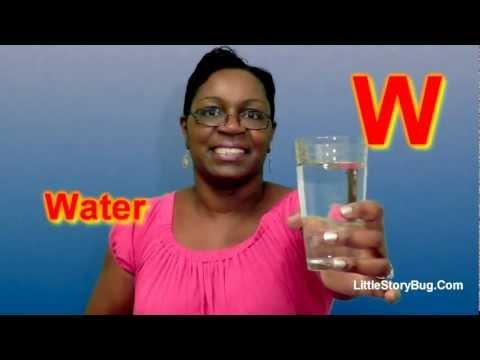 Preschool Activity - W is for Water - Littlestorybug