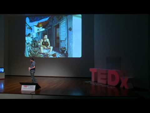 "TEDxEdges 2011 - Ricardo Cabral - ""Drawing as a way of seeing"""
