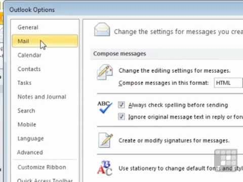 Outlook 2010 Tutorial -  Tracking an Emails Arrival or Read Status