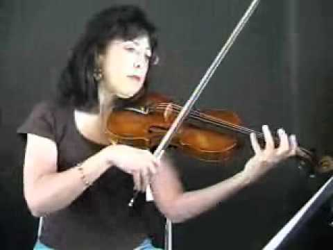Violin Song Lesson - How To Play Boure In E minor By Bach