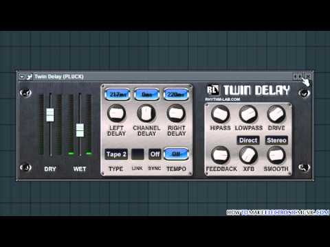 Twin Delay | Free VST Delay Effect For That Dub Sound