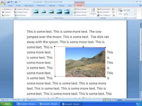 Word 2007 Tutorial 10 - Working With Pictures