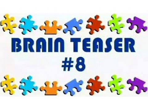 Video Brain Teaser #8