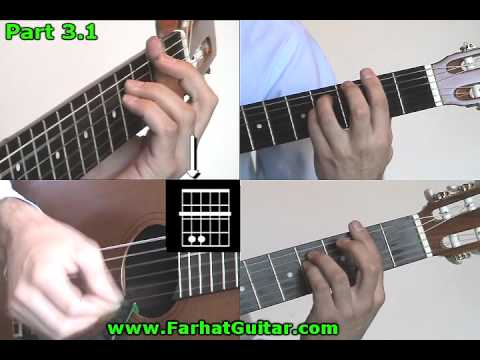 While My Guitar Gently Weeps The Beatles  Guitar Cover Part 3.1 www.Farhatguitar.com