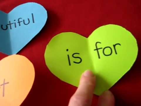 Valentine-heart sentences