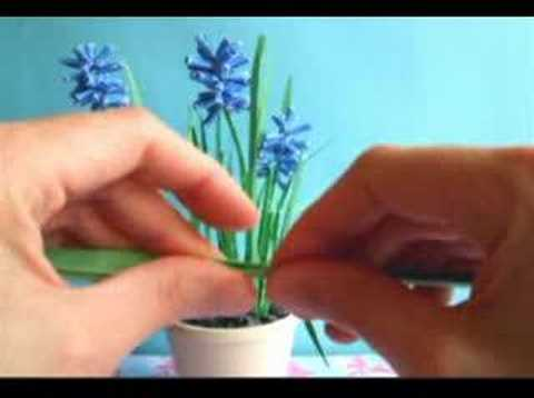 Origami Grape Hyacinth