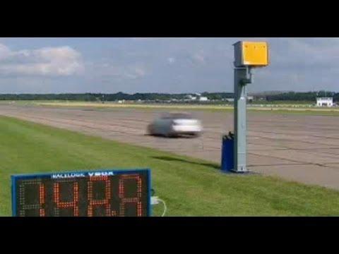 Top Gear - Richard Hammond vs the speed camera round 2 - BBC