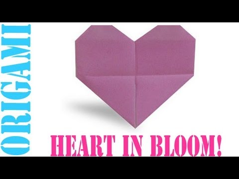 Origami Daily - 375: Heart In Bloom - TCGames [HD]