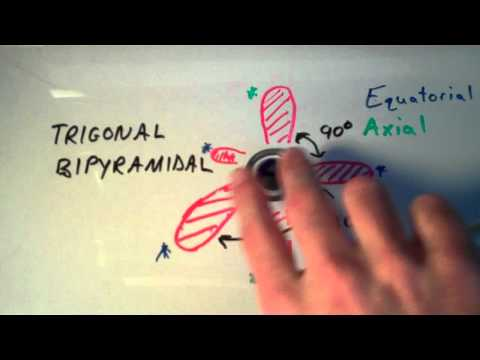 VSEPR Theory Part 2:  Trigonal Bipyramidal and Octahedral Shapes
