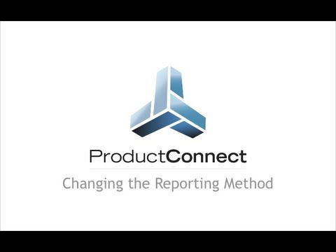 Product Connect for Google SketchUp - Choosing a Reporting Method