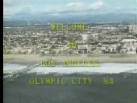 Welcome to Los Angeles - Olympic City - 1984