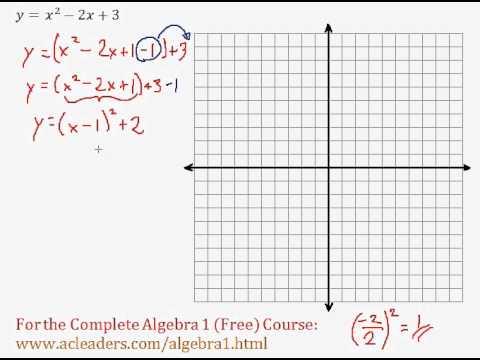 Quadratics - Graphing Quadratic Functions (General Form) Pt. 2