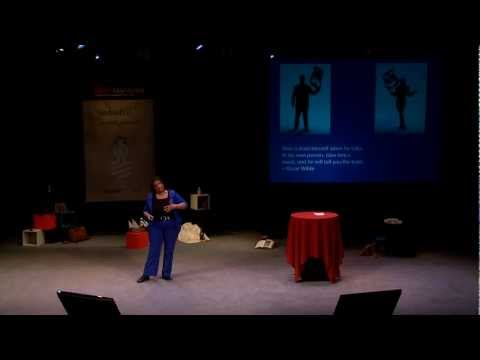 TEDxManitoba - Linda Cureton: Unmasking the Superhero in You