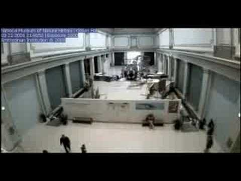 Time-lapse Construction of the Sant Ocean Hall at the National Museum of Natural History