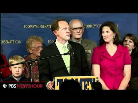 Pat Toomey Claims Victory in Pa Senate Race