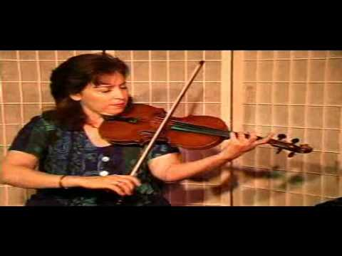 "Violin Lesson-Song Demonstration-""When that I was a little."""