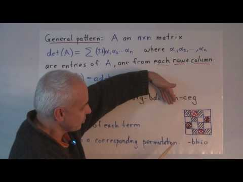 WT70: Determinants in geometry (I)