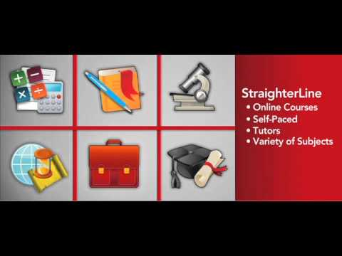 What is StraighterLine? College credit for $99 a month - Enroll today!