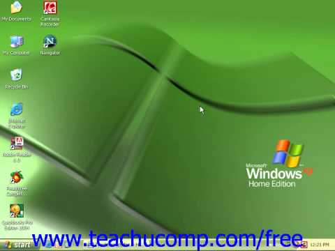 Windows XP Tutorial Setting Up an E mail Account Microsoft Training Lesson 7.10