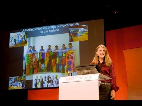 TEDxVienna - Jessica White - Creativity Unlocks