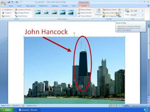 Word 2007 Tutorial 14 - Working With Shapes and Drawing Tools