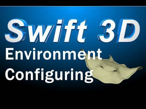 Swift 3D Tutorial : Render Environment Layout and Backgrounds