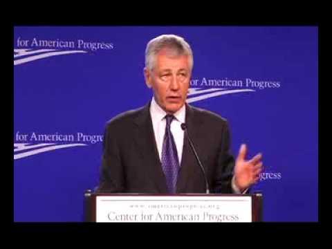 Sen. Chuck Hagel (R-Neb) on Security & the Next President